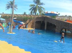 Parque aquático infantil -Beach Park