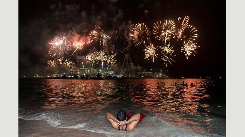 Firework Dubai