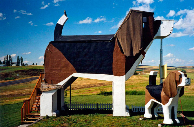 Dog Bark Park Inn, штат Айдахо, США