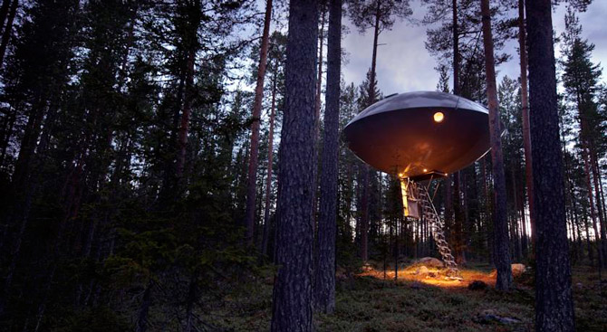 Treehotel, Швеция