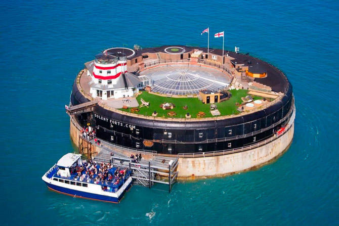 Solent Forts Portsmouth, Англия