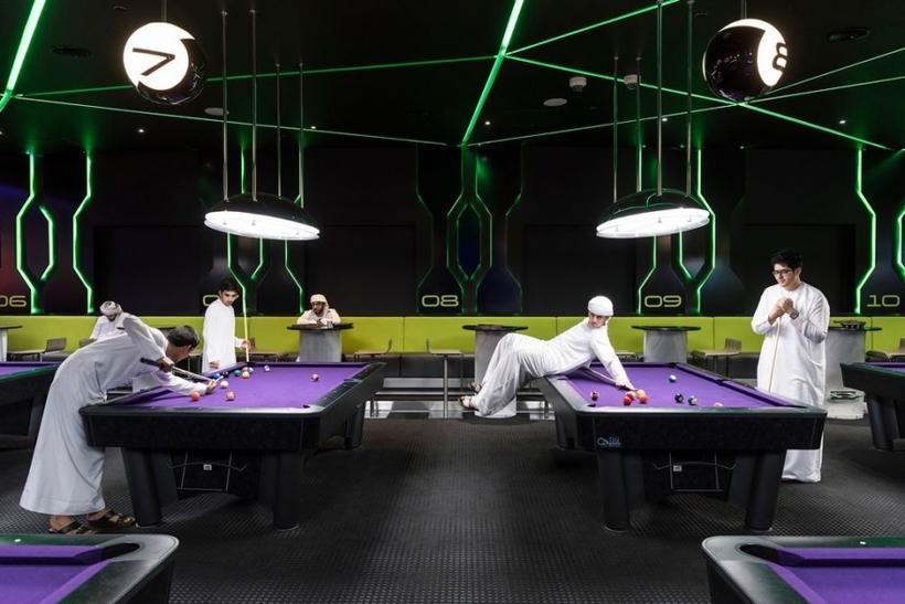 Dubai billiards