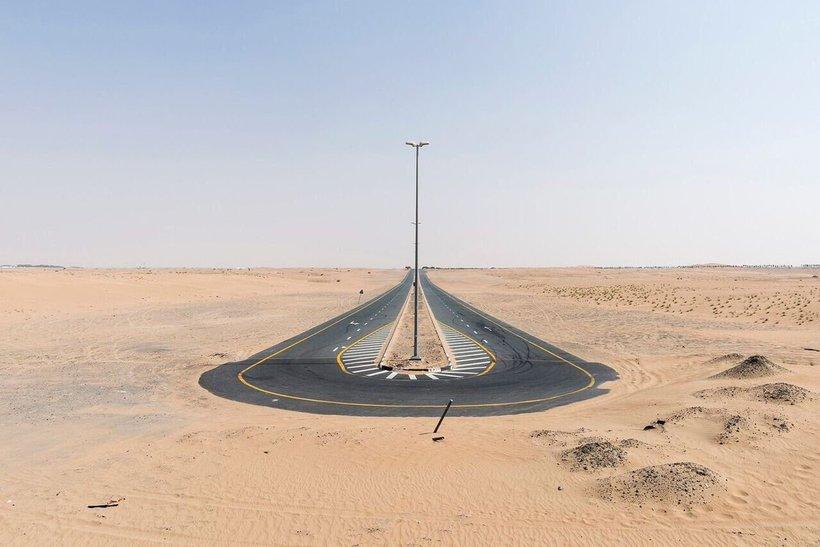 End of Dubai Road