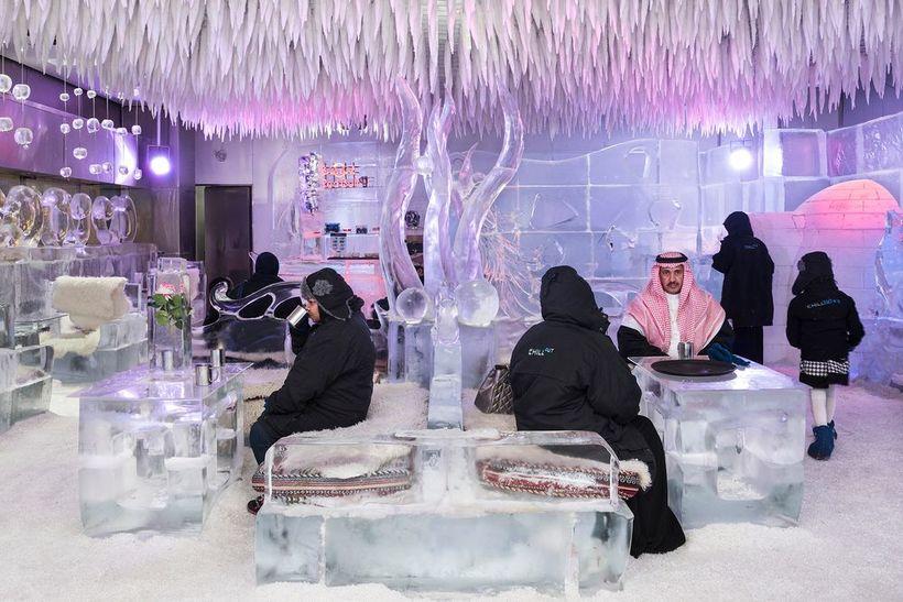 Dubai Ice cafe Chillout Ice Lounge