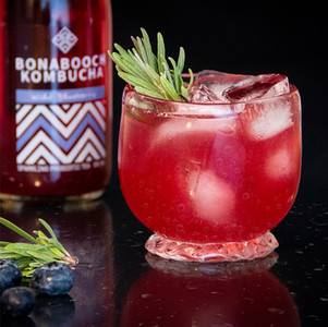 Blueberry Bliss Kombucha Cocktail