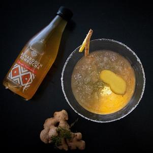 Ginger Martini Kombucha Cocktail