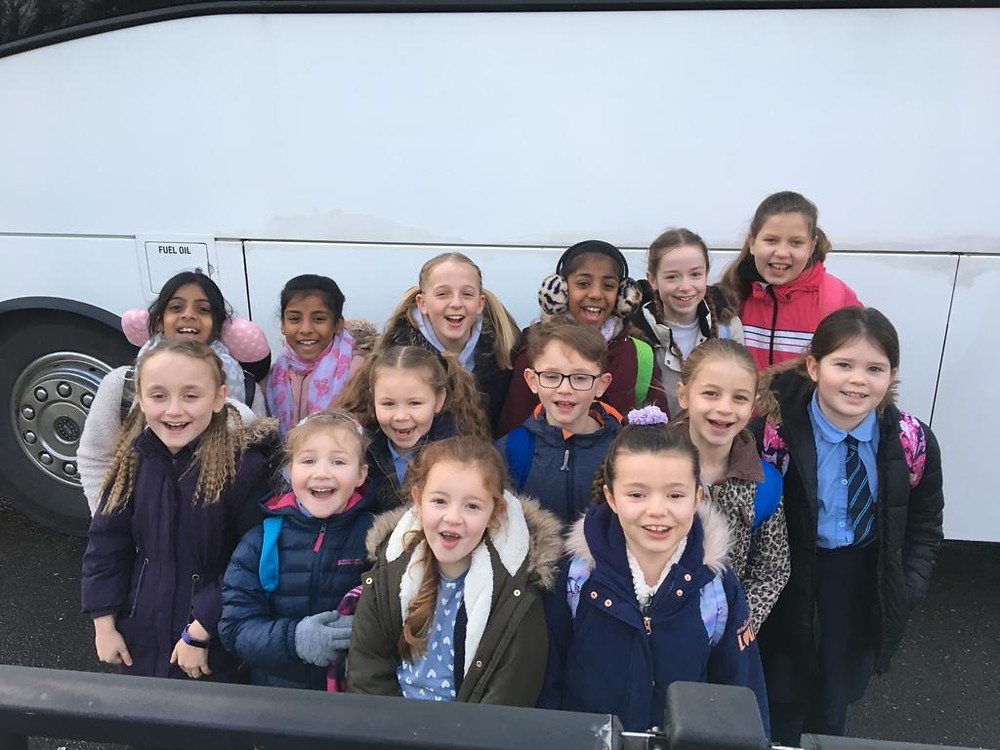 Martham Academy's Choral Society had an early start today as they set off to take part in Young Voices at the O2