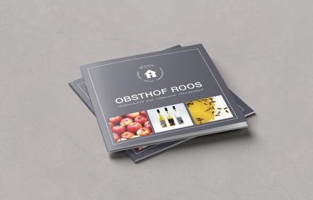 Editorial design Broschüre