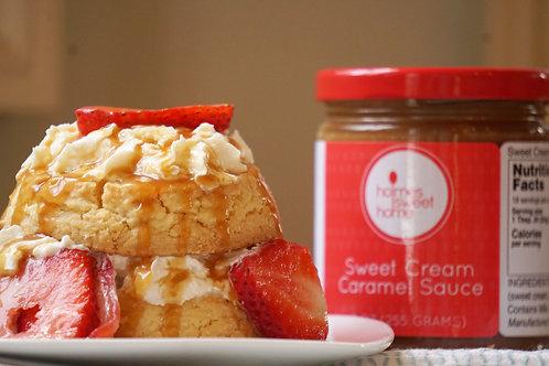 Artisan Sweet Cream Caramel Sauce