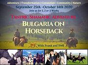 Bulgaria on Horseback, REX Conscious Adventure that Transforms