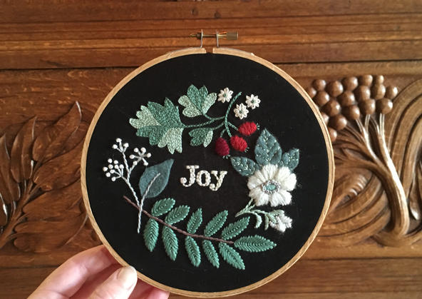 Embroidery Workshop – with kit
