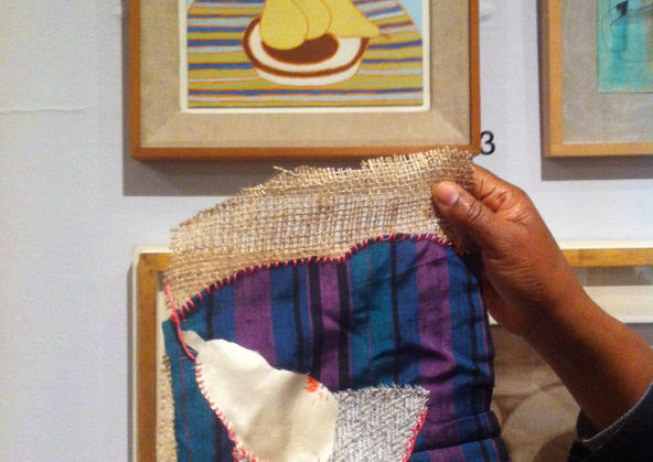 Sit & Stitch in the gallery