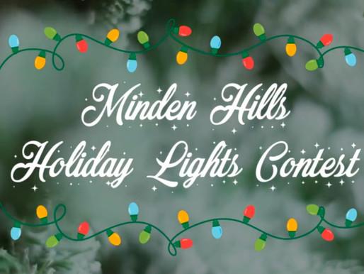 Minden Hills Holiday Lights Contest
