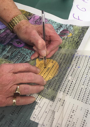 In The Moment, weekly art group for people living with dementia