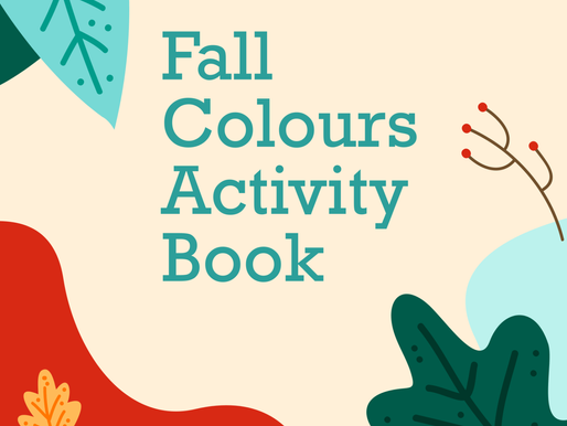 Fall Colours Activity Book