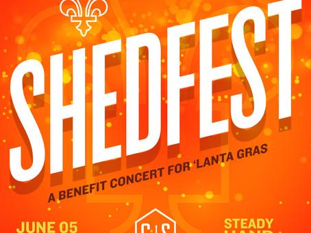 ShedFest | Live Music to Benefit Lanta Gras
