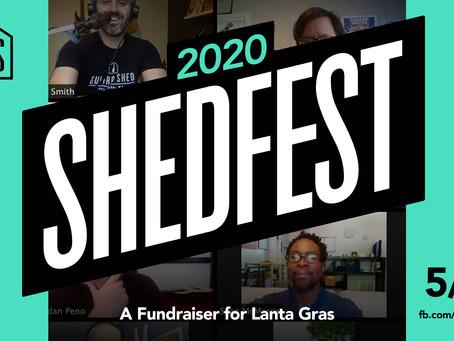 A Virtual Concert + Lanta Gras Fundraiser: ShedFest 5/30