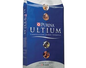 What I feed my horses: Purina Ultium