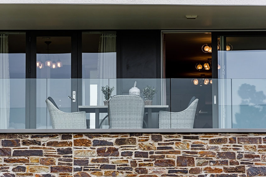 Ocean House Glass Balustrade