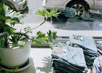 Jeans Store Window