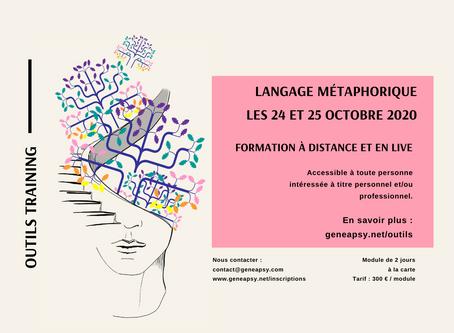 Langage métaphorique ou Clean Language - à distance