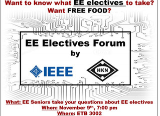 EE Electives Forum