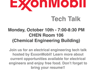 ExxonMobil Tech talk