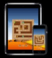 Rotamaze Egyptian puzzle iOS mobile app