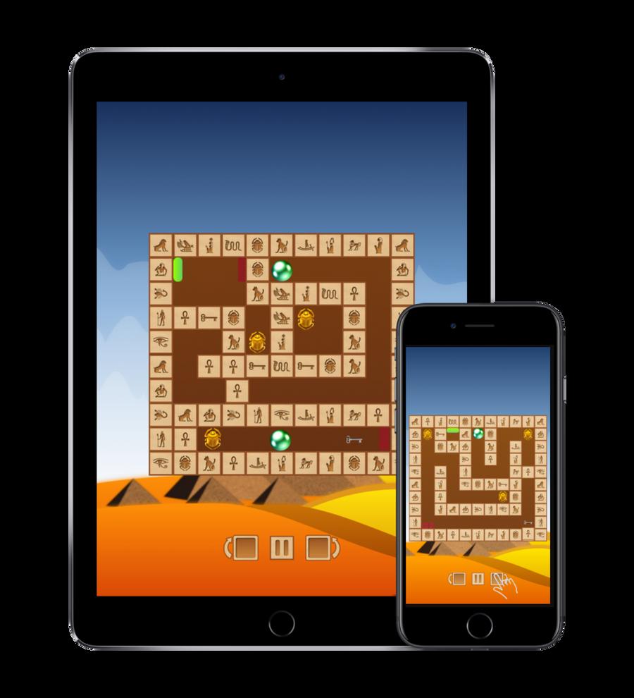 Rotamaze: Egyptian puzzle is now live