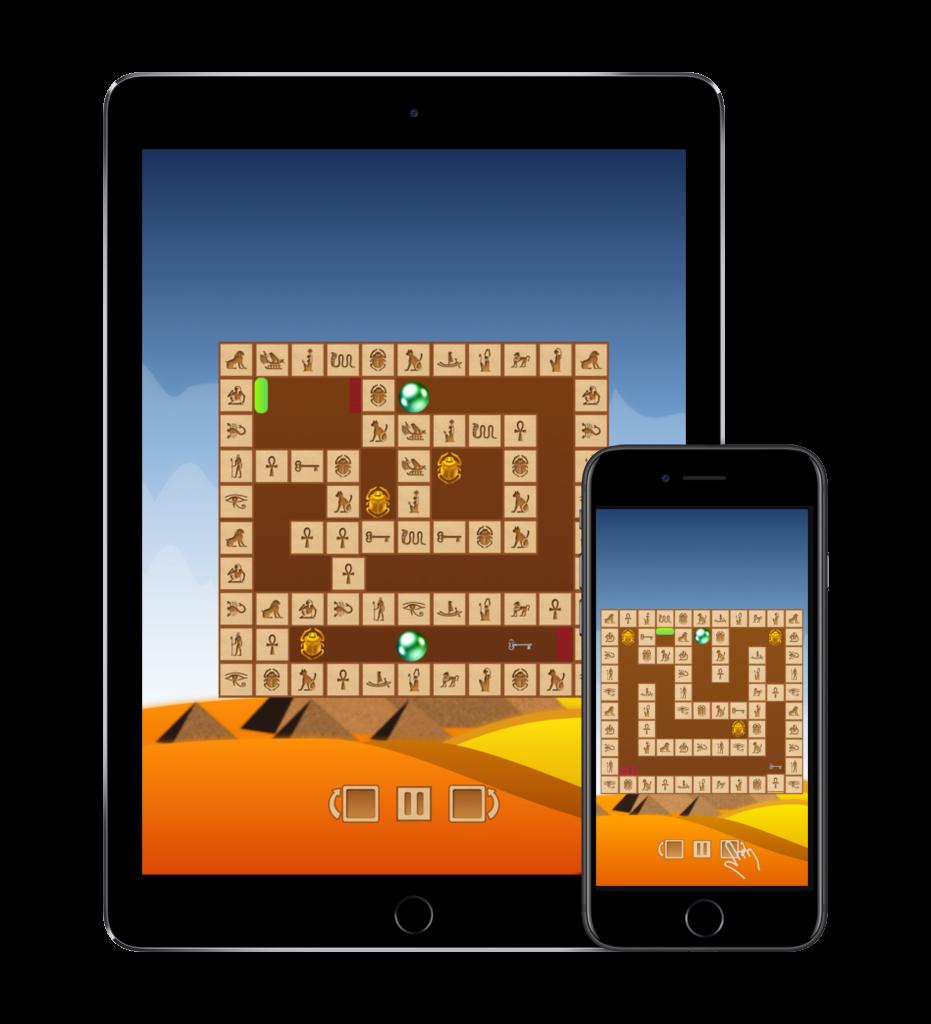 Rotamaze: Egyptian puzzle
