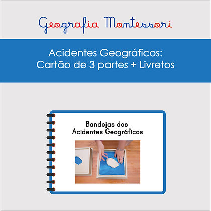 INSTRUÇÕES BANDEJAS ACIDENTES GEOGRÁFICOS