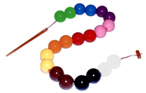 Cordão de esferas