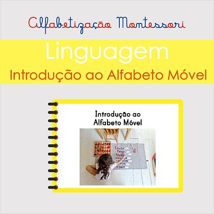 Instruções para Introdução do Alfabeto Móvel