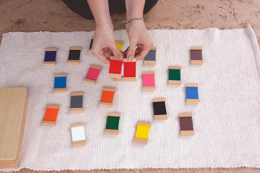 apresentação caixa de cores 2