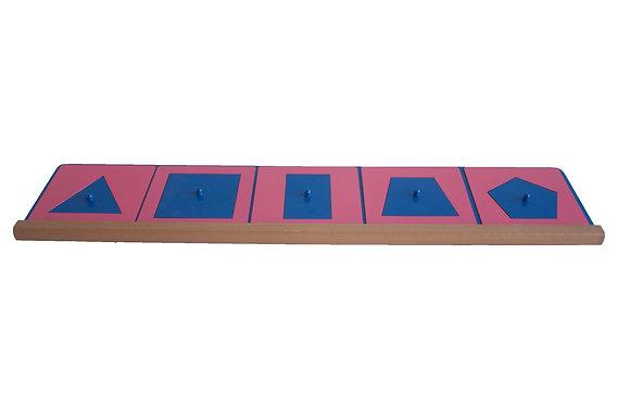 Encaixes de Ferro - formas angulares