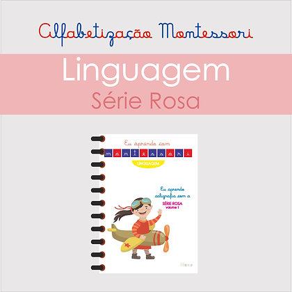 Eu Aprendo Caligrafia com a Série Rosa Vol. 1