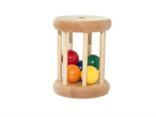 Cilindro com bolas