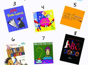 10 LIVROS DIVERTIDOS PARA ENSINAR O ABC