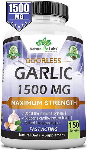 Pure Garlic 1,500 mg 150 soft gels