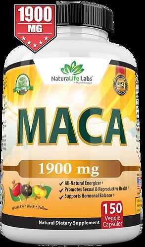 Organic maca 950mg 150 veggie capsules