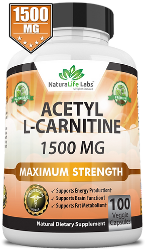 Acetyl L-Carnitine 1500 mg