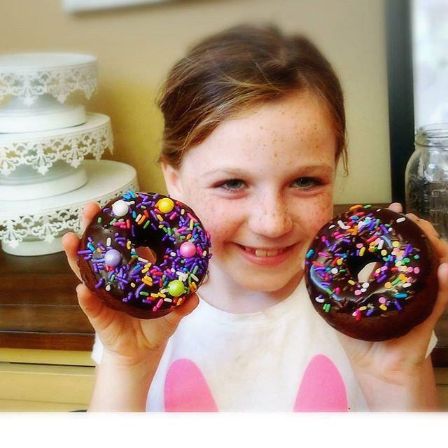 Kids Homemade donut class!