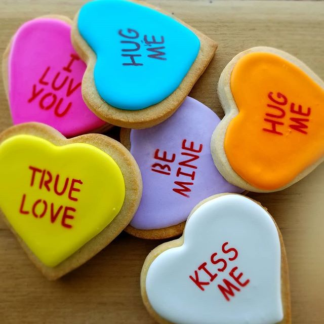 I just LOVE these conversation heart coo