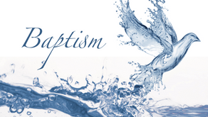 Your baptism connects you to the servant of the Lord