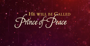 PRAISE THE PRINCE OF PEACE!