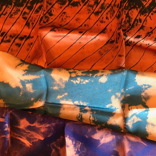 FIBER ART: REVERSE DYEING (DISCHARGE DYEING) ..... 10/21   More info