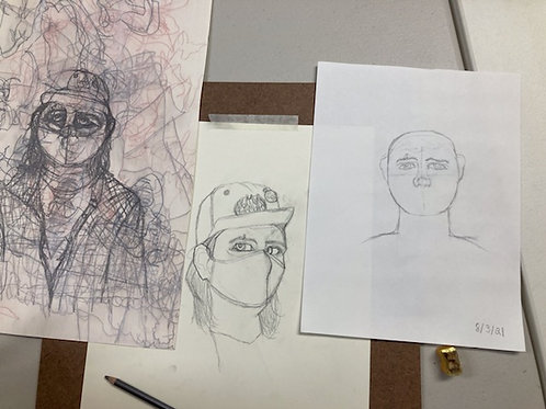BEGINNERDRAWING: Using Line to Draw What You See, 6 classes,  Nov 3-24, 6-8pm