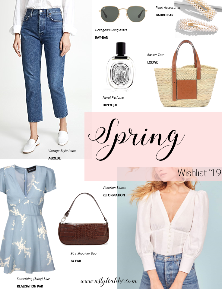 Spring Wishlist 2019 l A Style Alike l Fashion