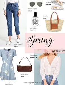Spring Wishlist 2019 l A Style Alike l Fashion