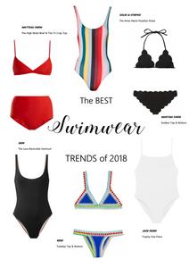 The BEST Swimwear Trends of 2018 l A Style Alike